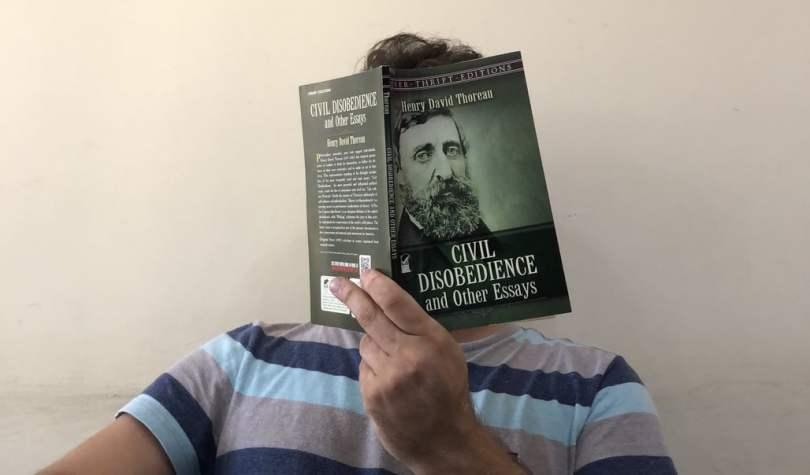 Chris Khatschadourian Reading Thoreau's Civil Disobedience